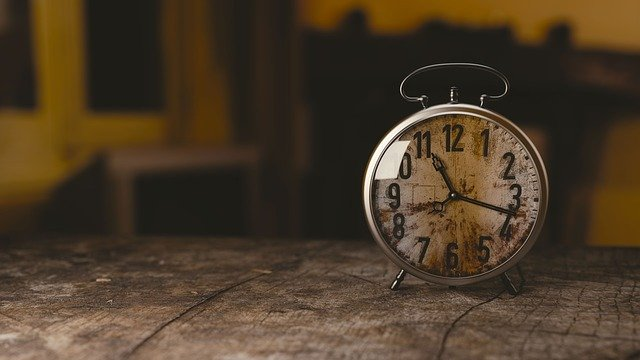 営業時間の変更